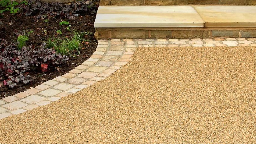 Resin driveways and more available with Findley Roofing and Building