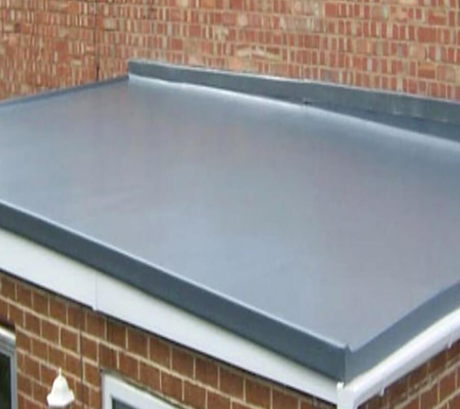 Grey EPDM Flat Roof