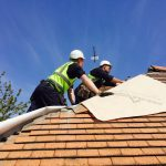 What is the average cost of a new roof in the UK?